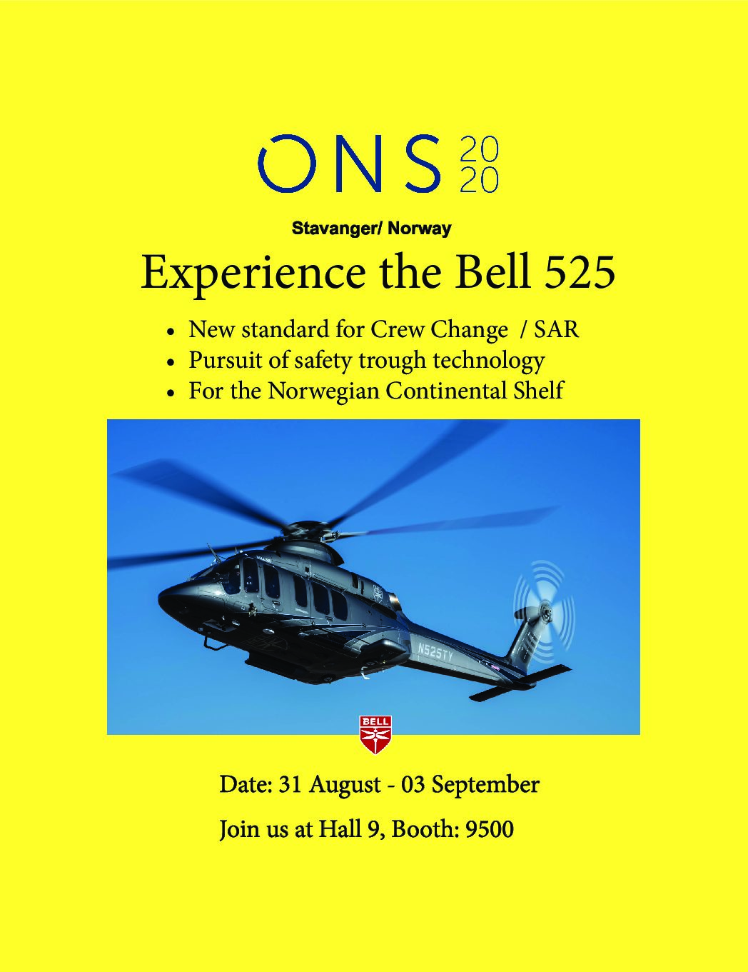 ONS – 31.08 – 03.09 2020